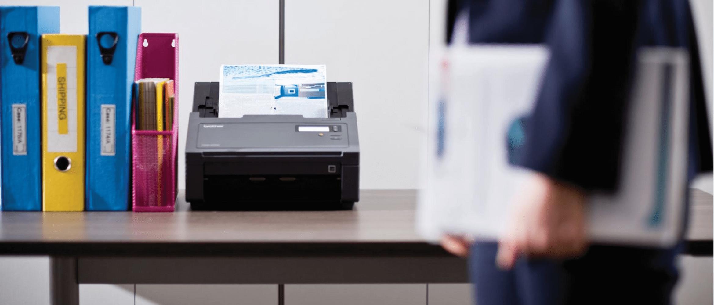 Brother PDS-5000 PDS-6000 skrivbordsskanner med filer