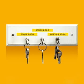Labelled keys