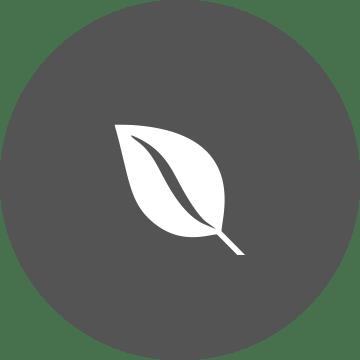 Ikon med blad
