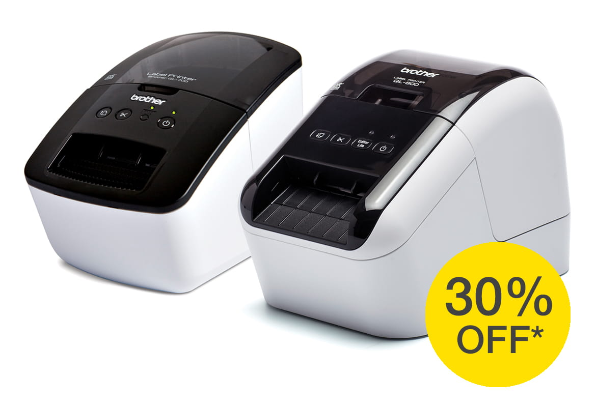 QL-700 and QL-800 label printers