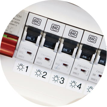 Labels of fuse box