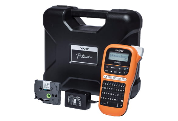 PT-E110VP label printer value pack