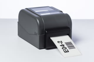 Brother PA-CU-002 full and partial cutter installed on a TD-4T series label printer