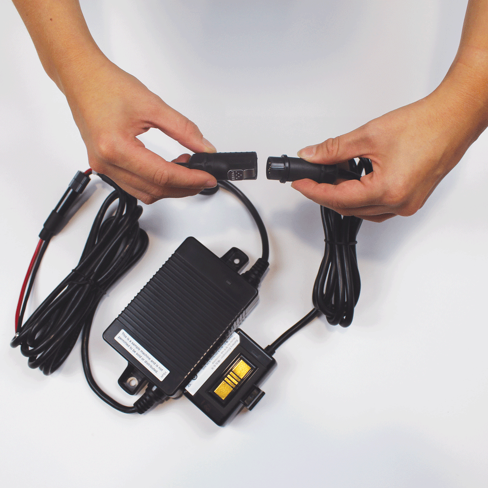 Brother batterieliminator set för kabelanslutning  PA-BEK-001WR 3