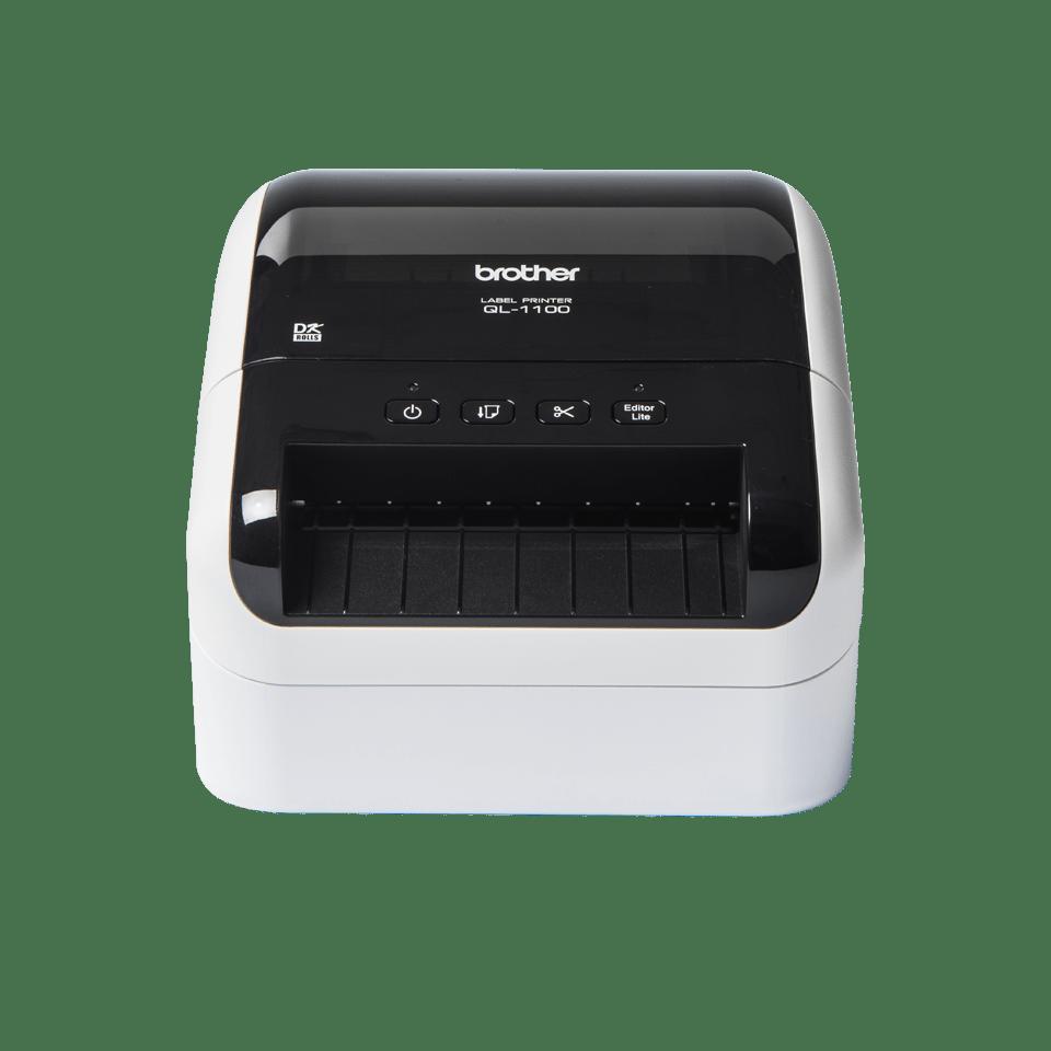 QL-1100, Bred etikettskrivare för adresslappar/streckkoder