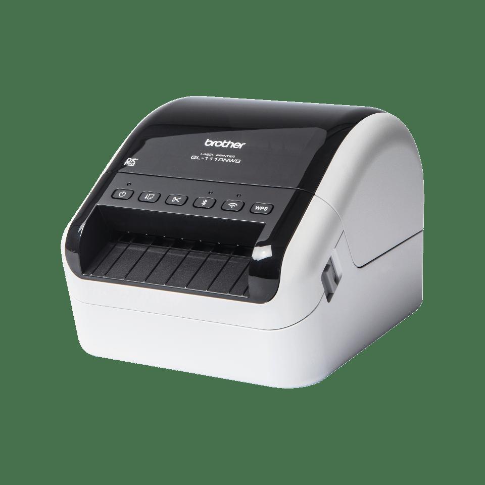 QL-1110NWB, Bred etikettskrivare för adresslappar/streckkoder  2