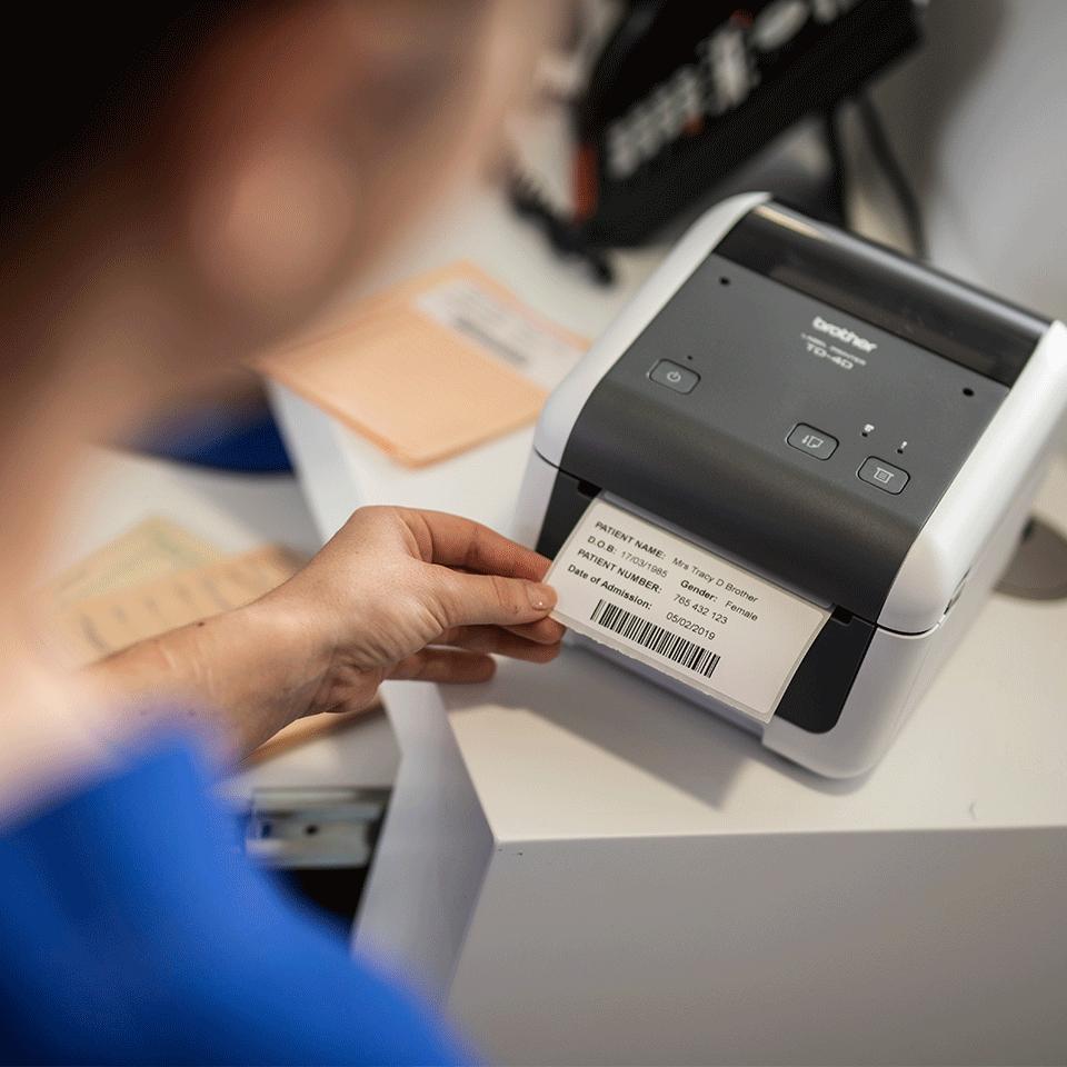 TD-4520DN professionell, nätverksklar etikettskrivare för skrivbordet 6