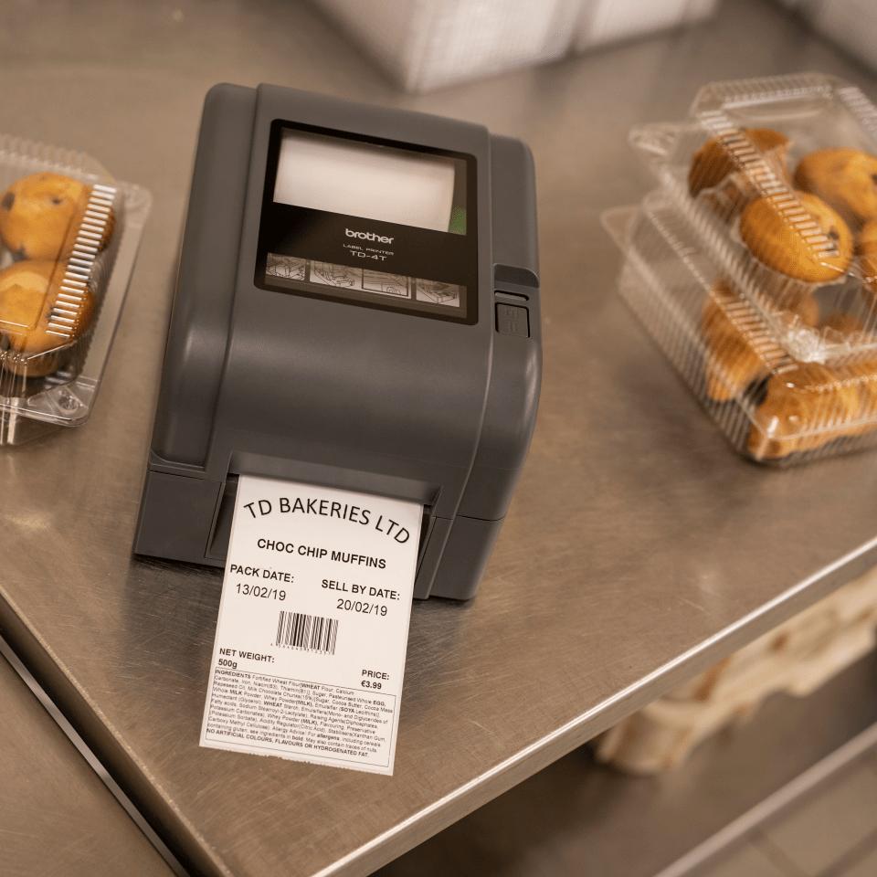Brother TD-4520TN etikettskrivare för skrivbordet med termotransferteknik 8