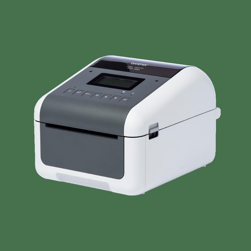 TD-4550DNWB professionell, trådlös etikettskrivare med Bluetooth för skrivbordet 2