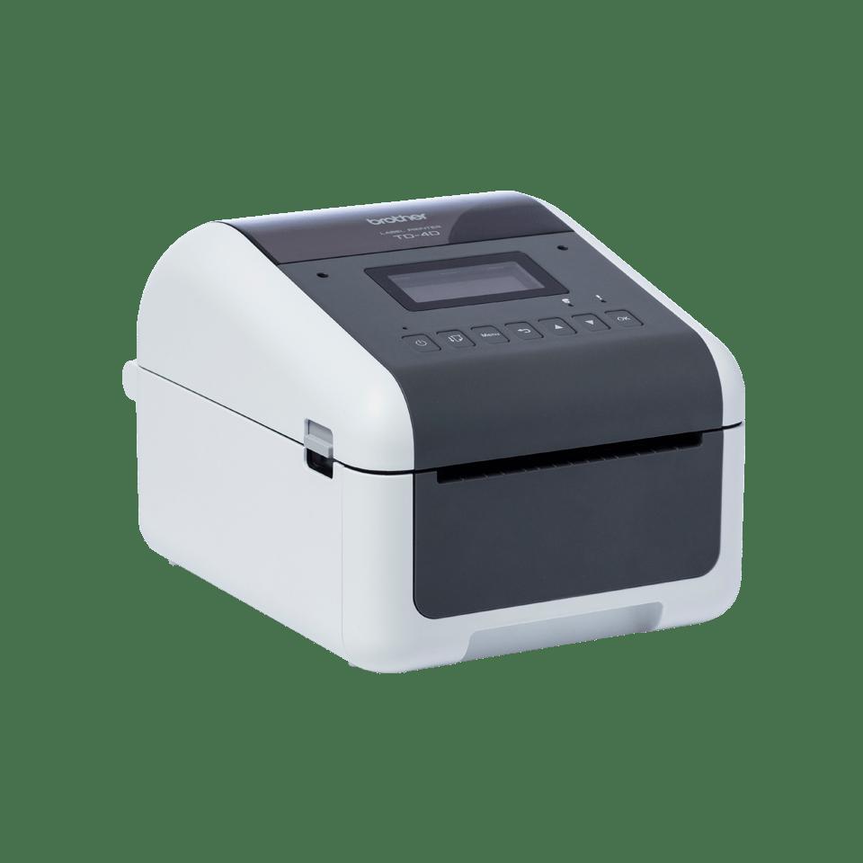 TD-4550DNWB professionell, trådlös etikettskrivare med Bluetooth för skrivbordet 3