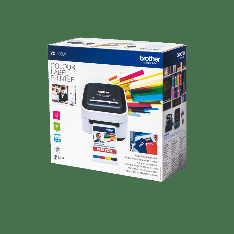 VC-500W etikettskrivare för färgutskrifter 4