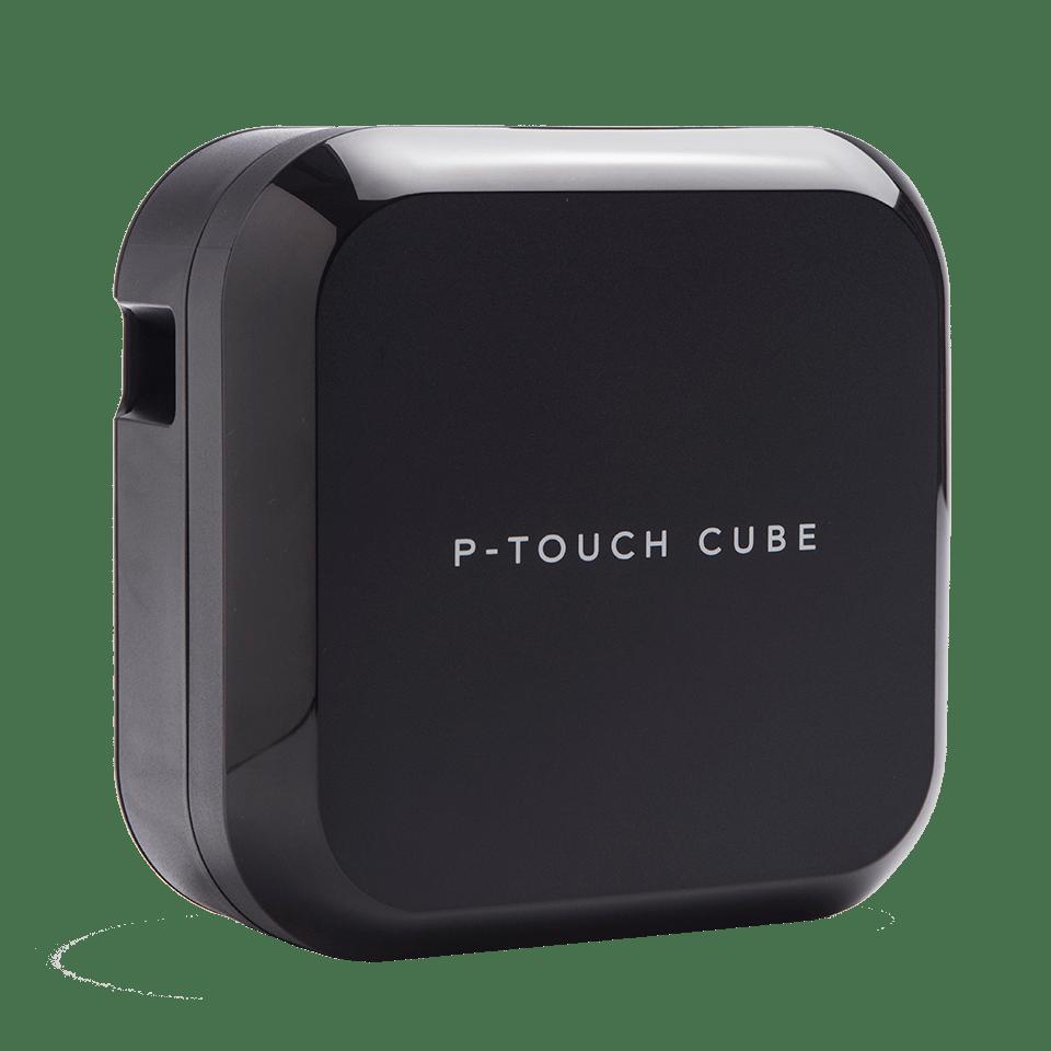 P-touch CUBE Plus uppladdningsbar märkmaskin med Bluetooth