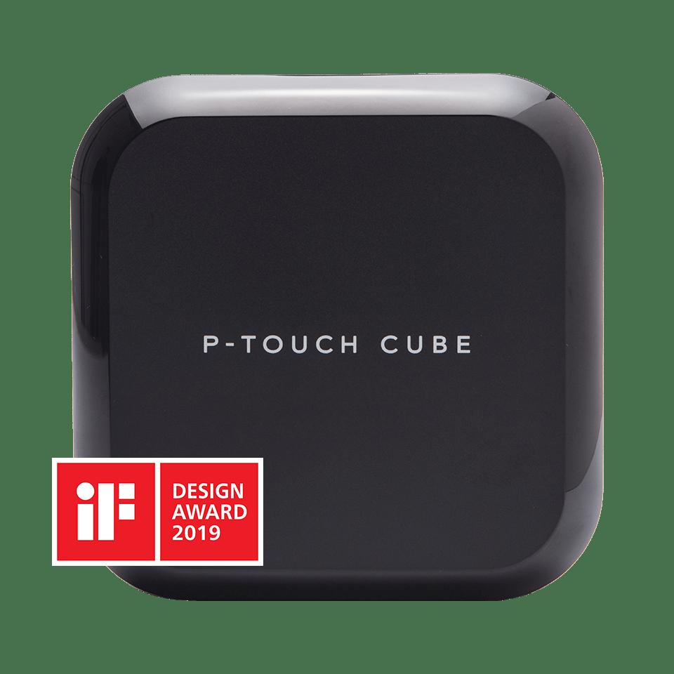 PT-P710BT P-touch CUBE Plus uppladdningsbar märkmaskin med Bluetooth