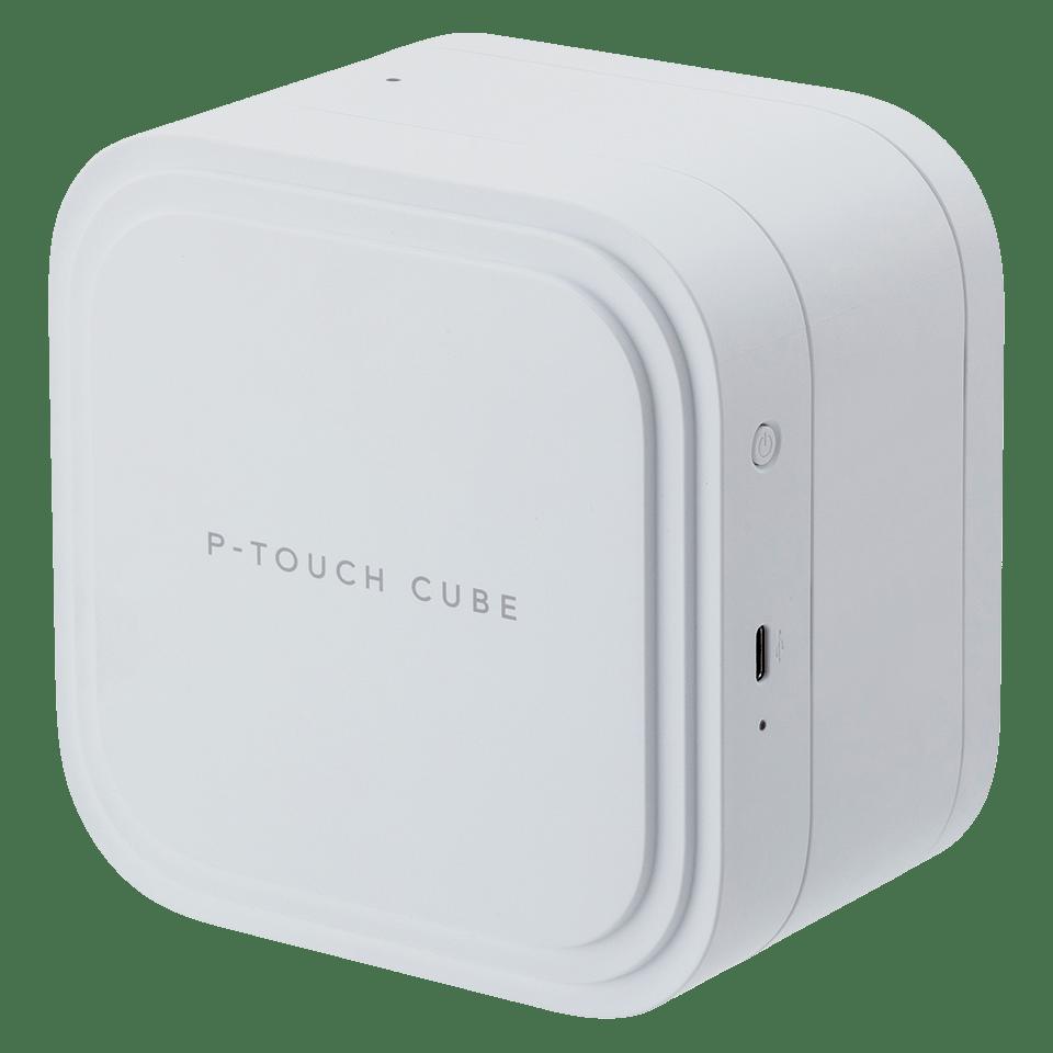 P-touch CUBE Pro (PT-P910BT) uppladdningsbar märkmaskin med Bluetooth 4