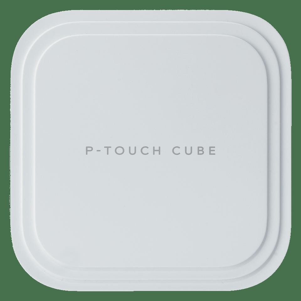 P-touch CUBE Pro (PT-P910BT) uppladdningsbar märkmaskin med Bluetooth