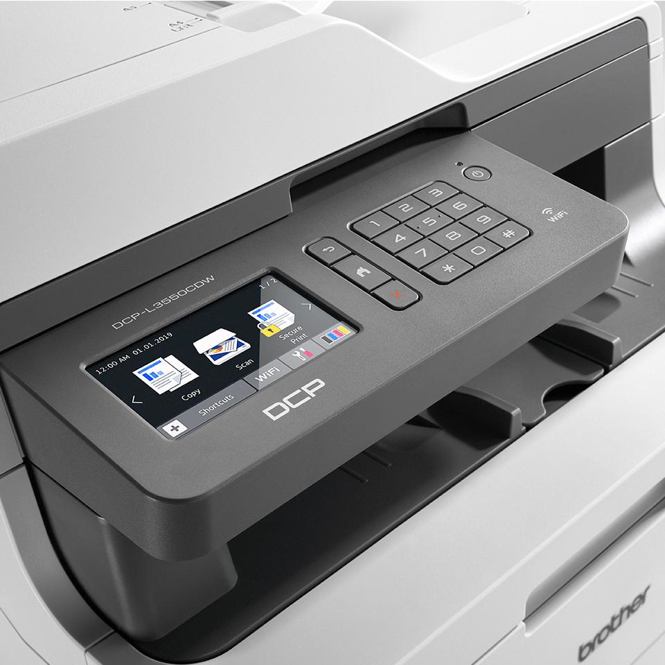 DCP-L3550CDW  trådlös allt-i-ett färgskrivare  4