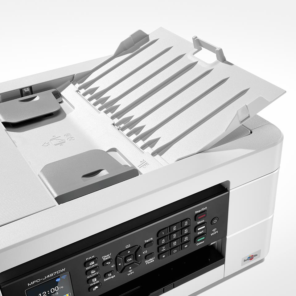 MFC-J497DW  allt-i-ett bläckstråleskrivare med trådlös nätverksanslutning 5