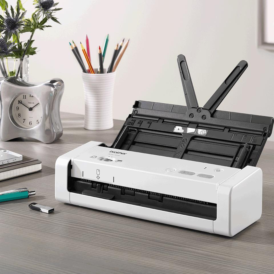ADS-1200 Bärbar, kompakt dokumentskanner 8