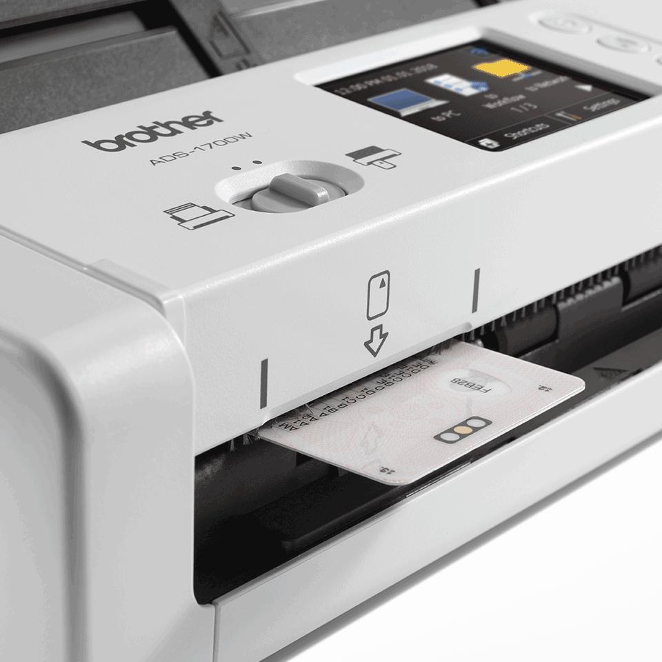 ADS-1700W Smart dokumentskanner 7