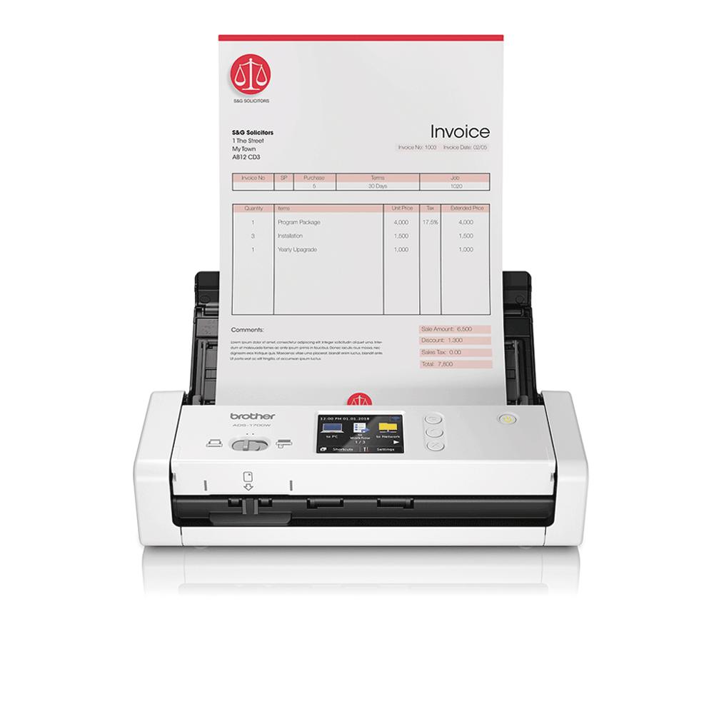 ADS-1700W Smart dokumentskanner