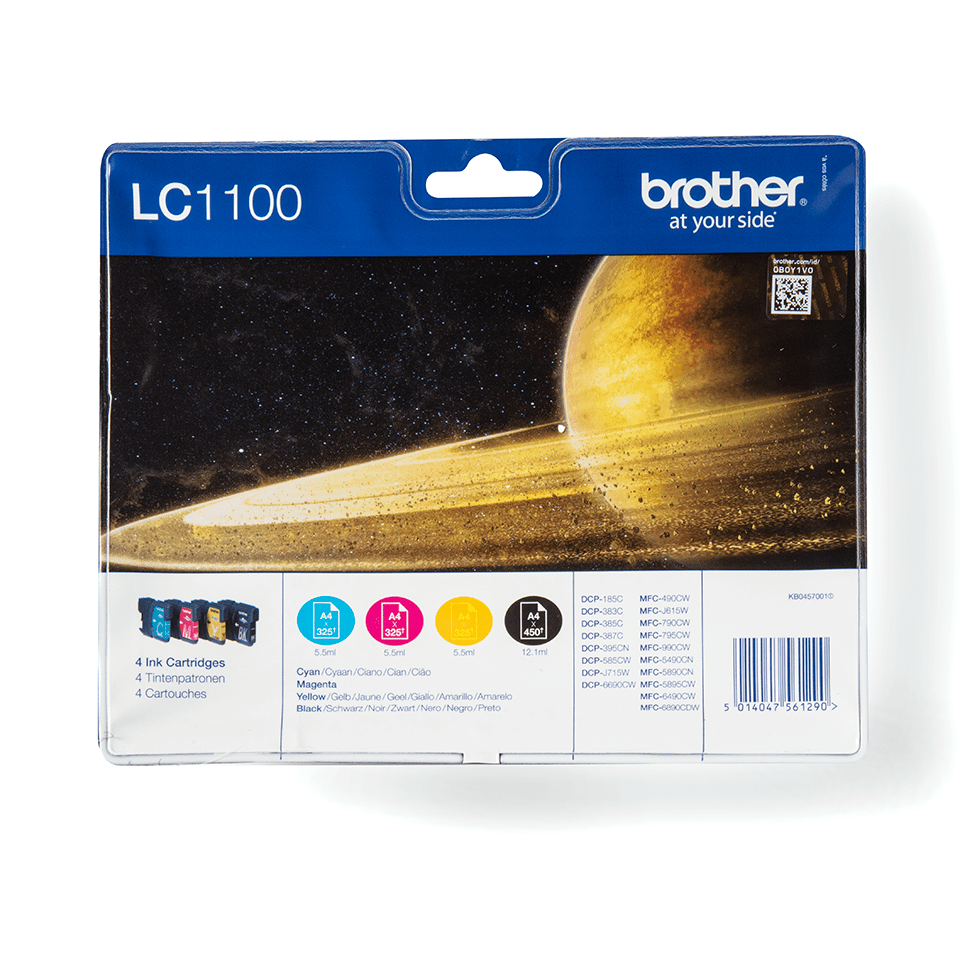 Brother original LC1100VALBPDR bläckpatron multipack