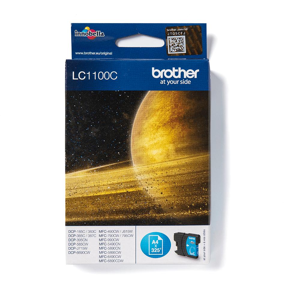 Brother LC1100C original bläckpatron – Cyan