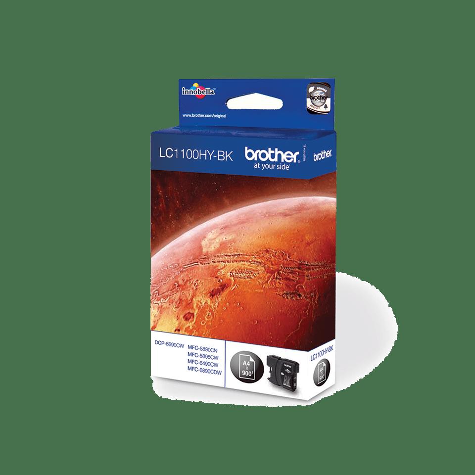 Brother original LC1100HYBK bläckpatron med hög kapacitet – svart 2