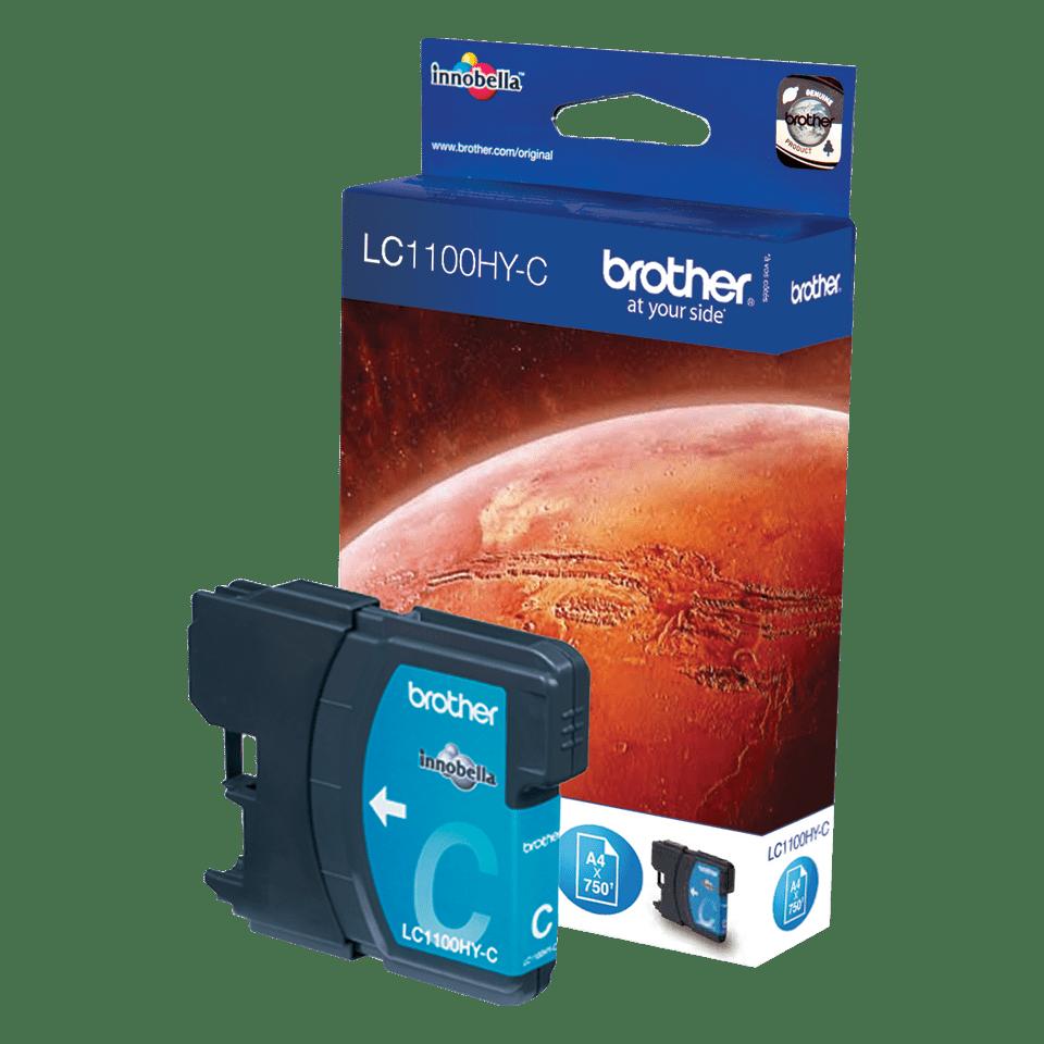 Brother original LC1100HYC bläckpatron med hög kapacitet – cyan