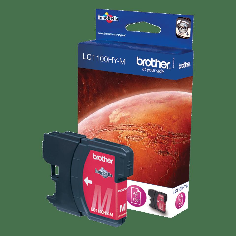Brother original LC1100HYM bläckpatron med hög kapacitet – magenta