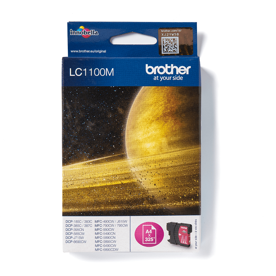 Brother LC1100M original bläckpatron – Magenta