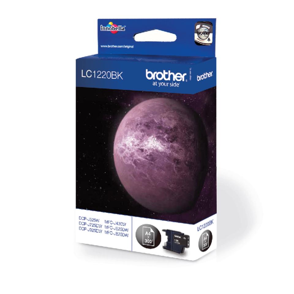 Brother original LC1220BK bläckpatron – svart 2