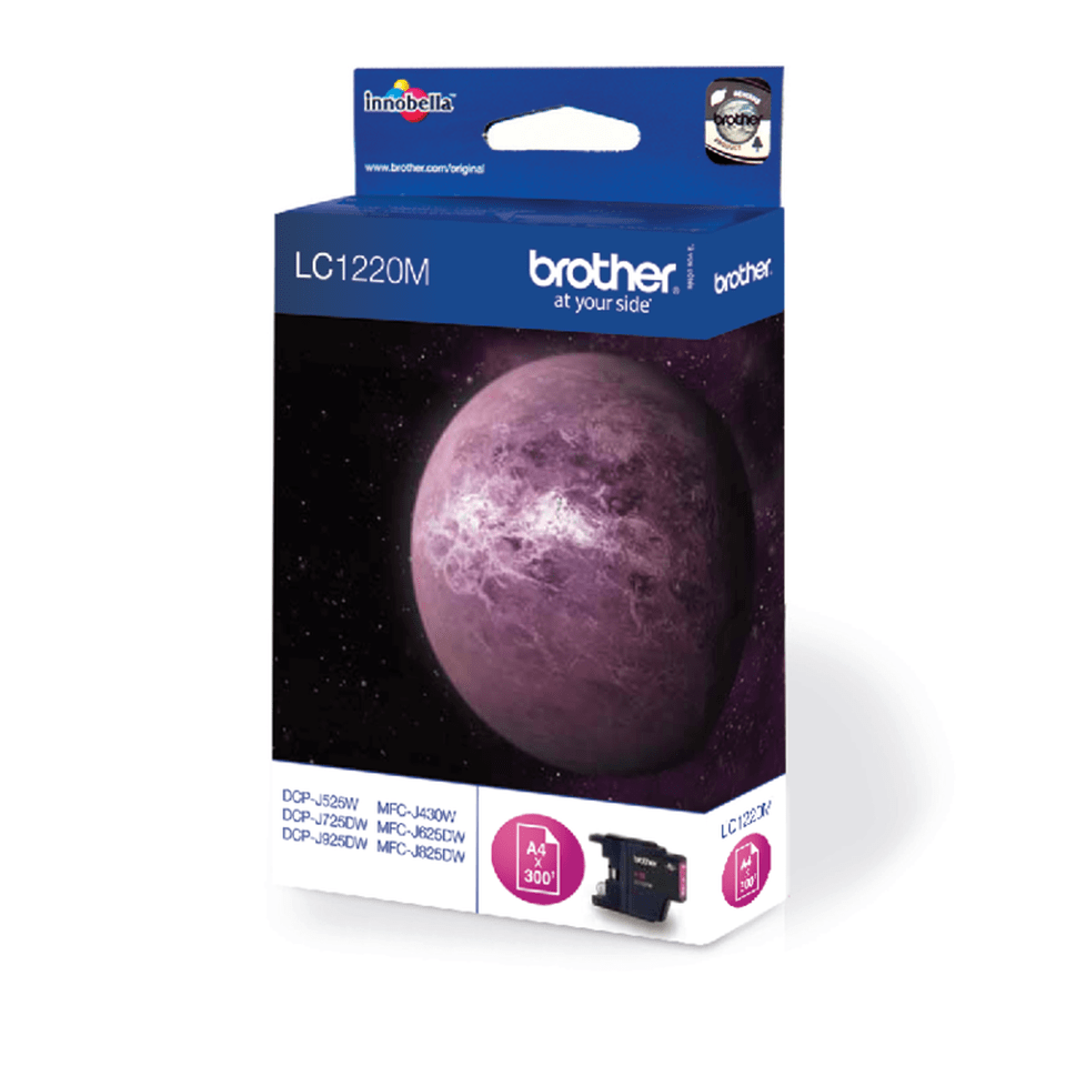 Brother original LC1220M bläckpatron – magenta 2