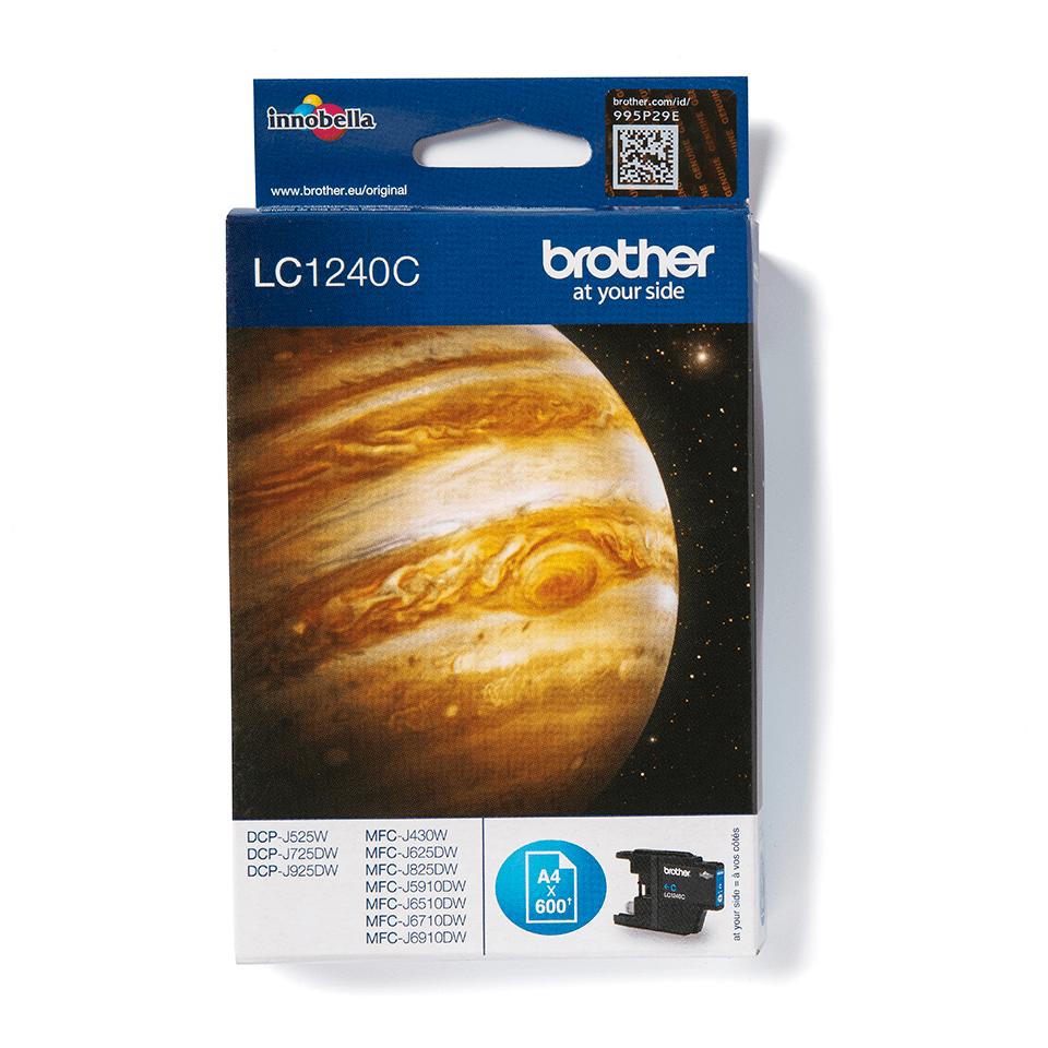Brother original LC1240C bläckpatron – cyan