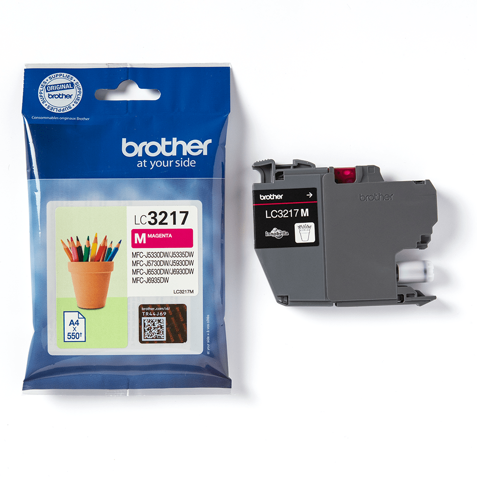 Brother original LC3217M bläckpatron – Magenta 3