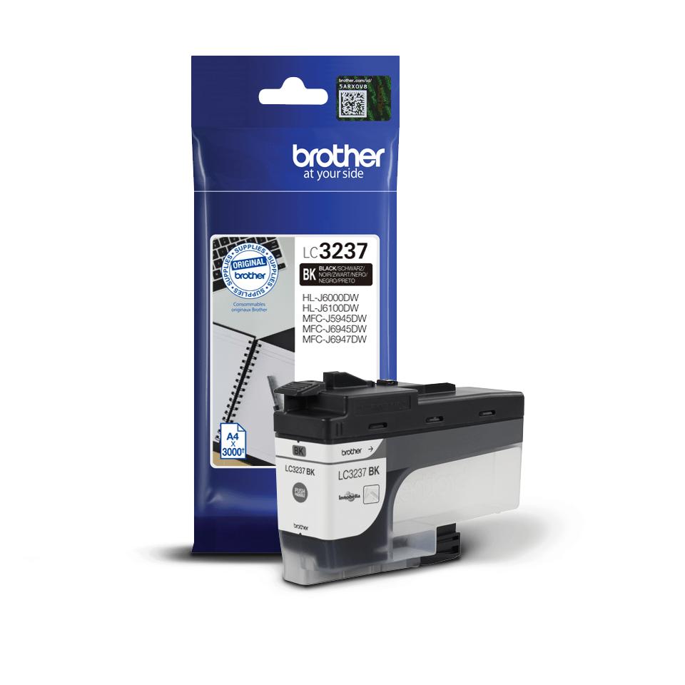 Brother LC3237BK originalbläckpatron med hög kapacitet – Svart 3