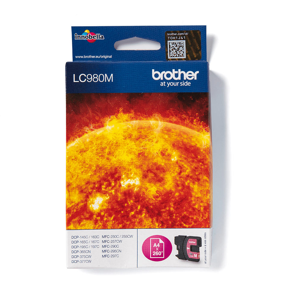 Brother original LC985M bläckpatron – magenta