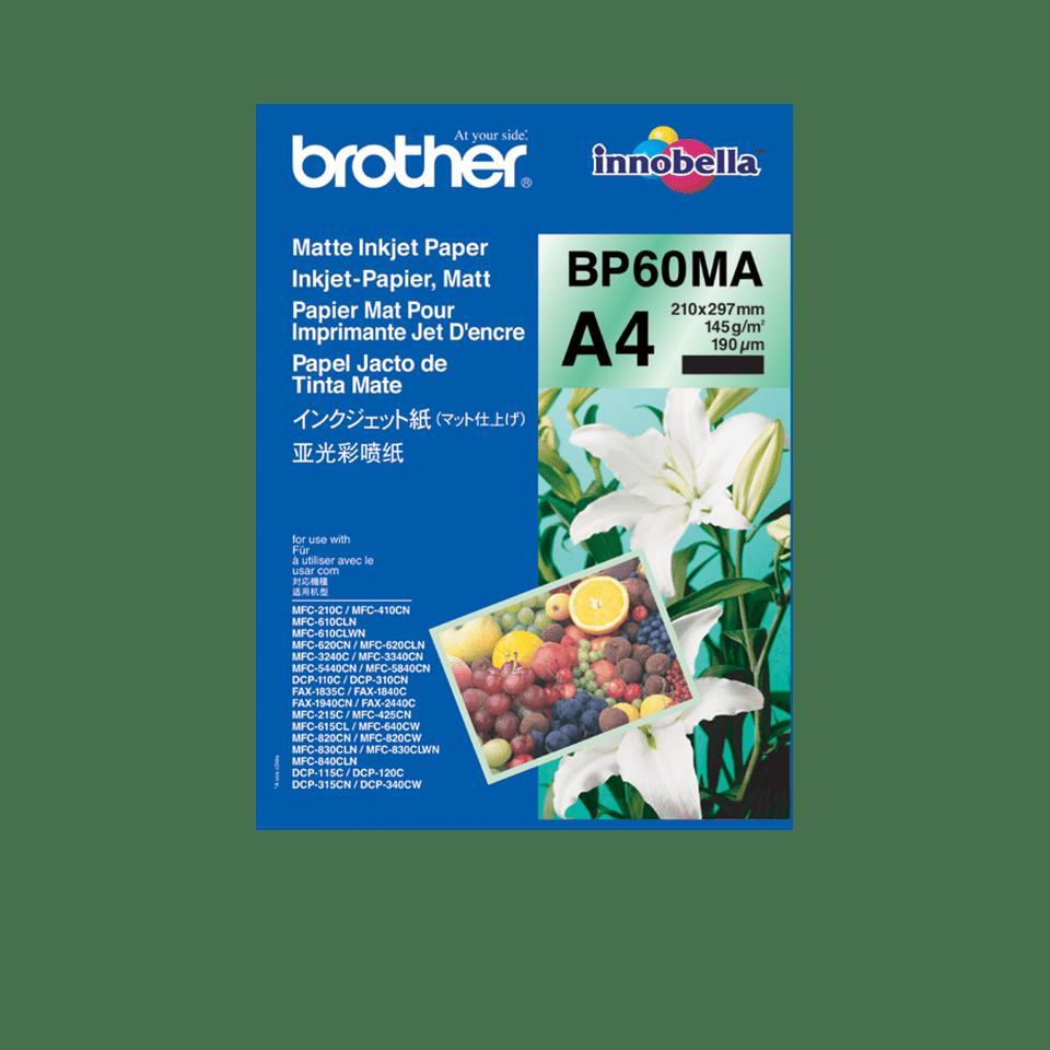 Brother original BP60MA Matt A4 -Inkjet papper 0