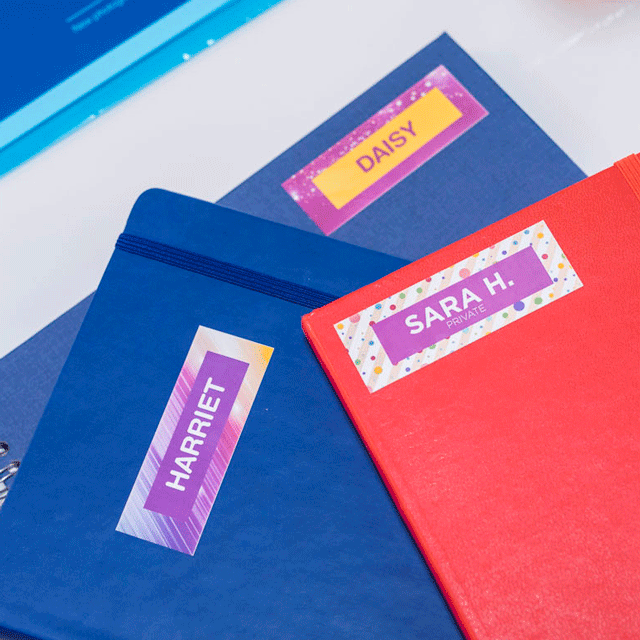 Brother original CZ-1005 fortlöpande etikettrulle för utskrift i färg, 50 mm bred 15