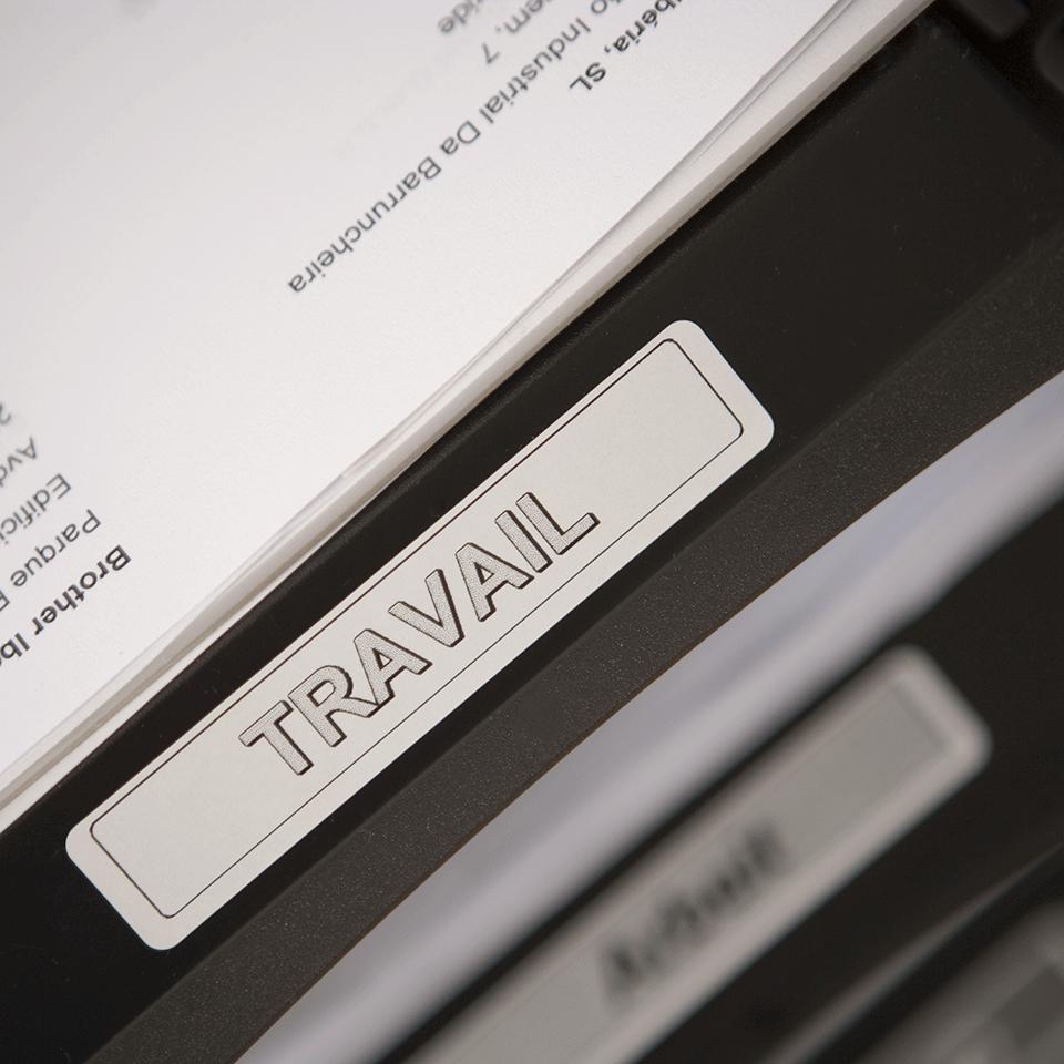 Brother original DK11204 etikettrulle, svart på vit, 17 mm x 54 mm 2