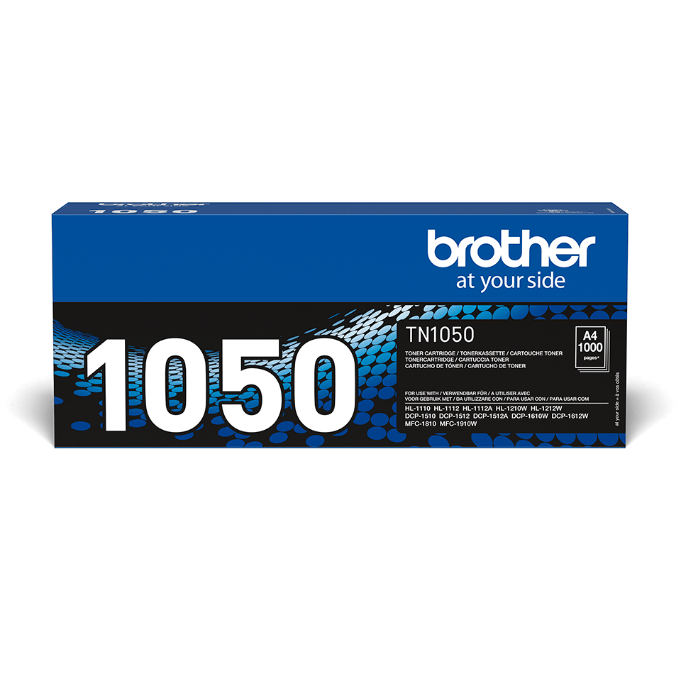 Brother TN1050  original tonerkassett – svart