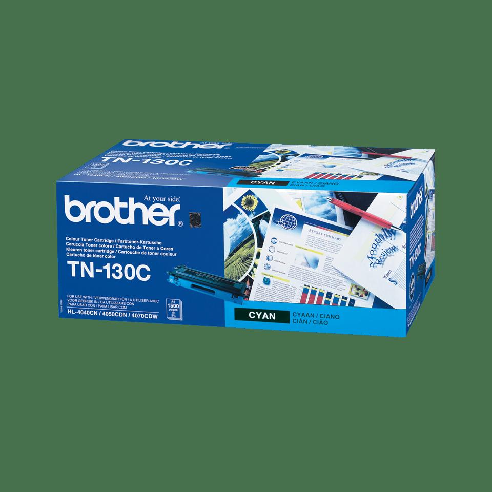 Brother original TN130C tonerkassett – cyan