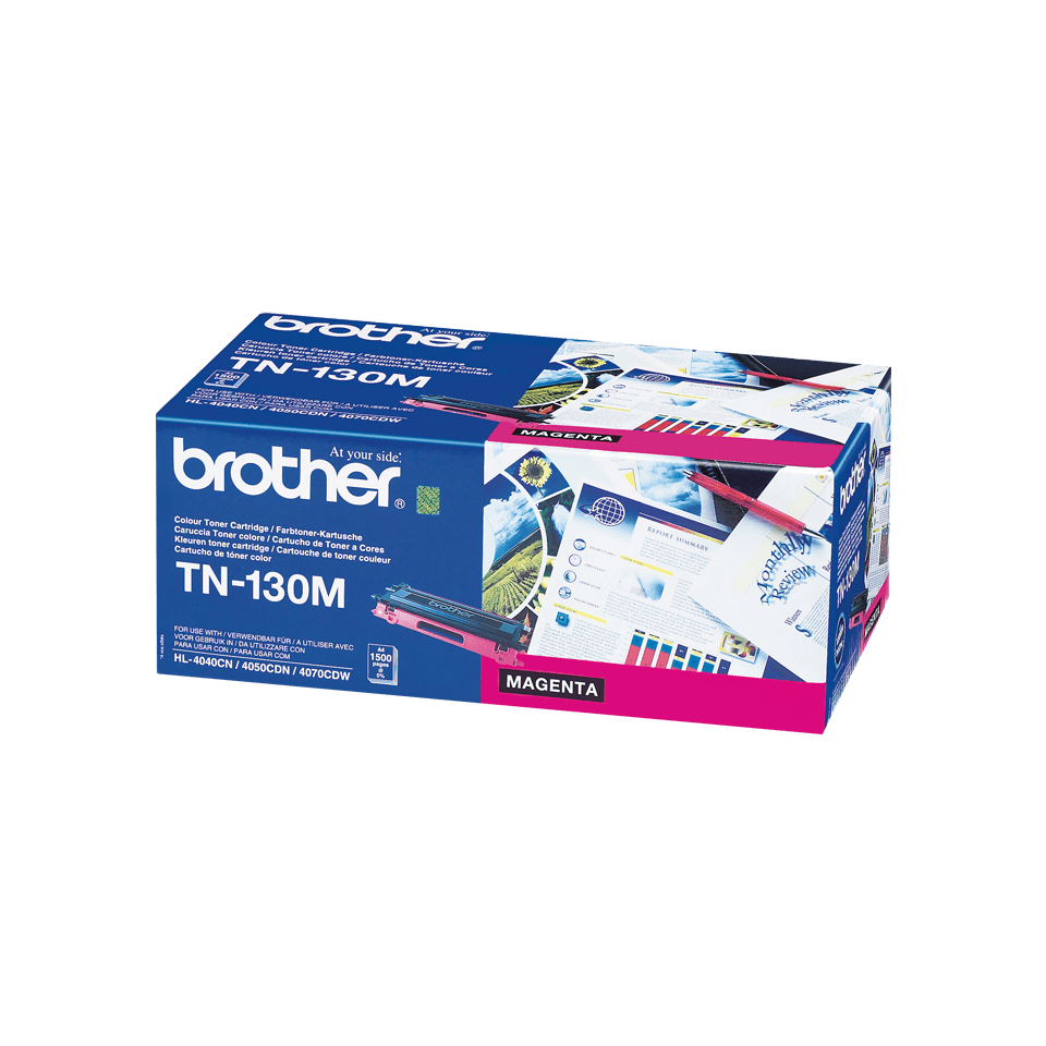 Brother original TN130M tonerkassett – magenta