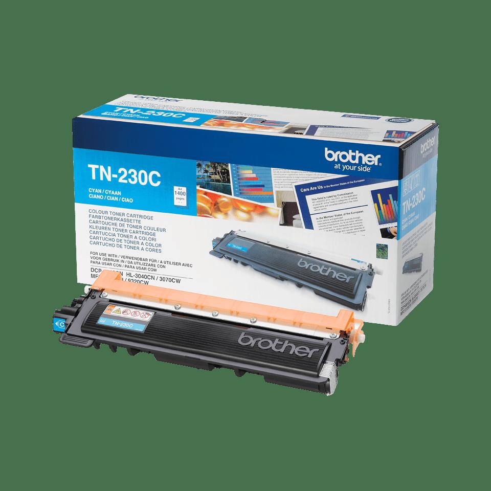 Brother TN230C original tonerkassett- cyan