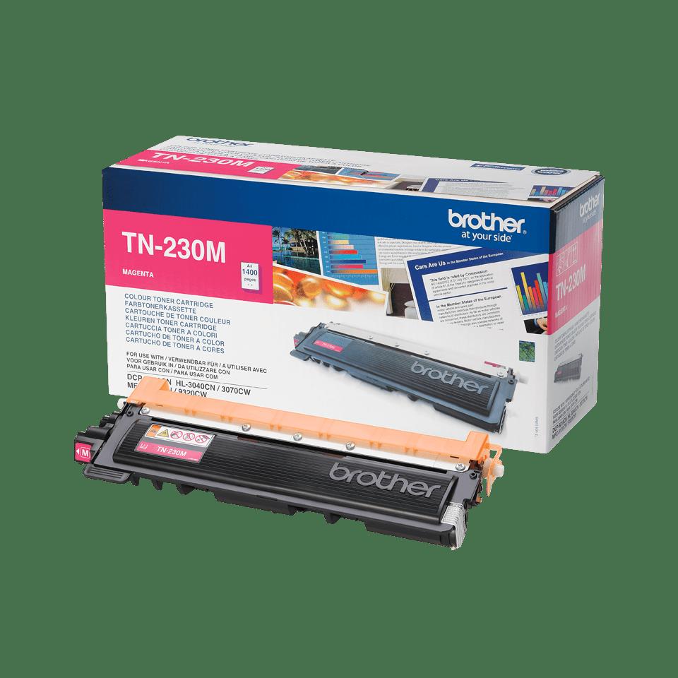 Brother TN230M original tonerkassett – Magenta