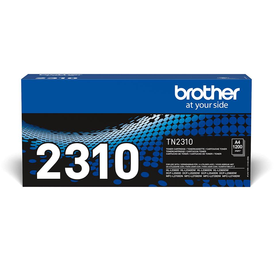Brother TN2310  original tonerkassett – svart