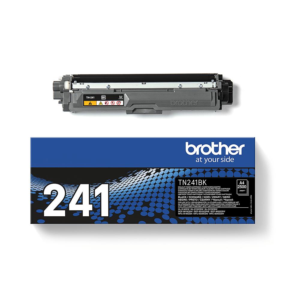 Brother original TN241BK tonerkassett – Svart 2