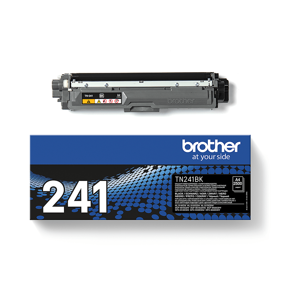 Brother original TN241BK tonerkassett – Svart 2