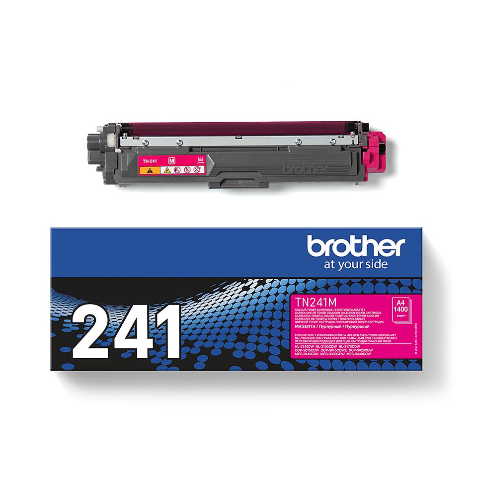 Brother original TN241M tonerkassett – Magenta 2