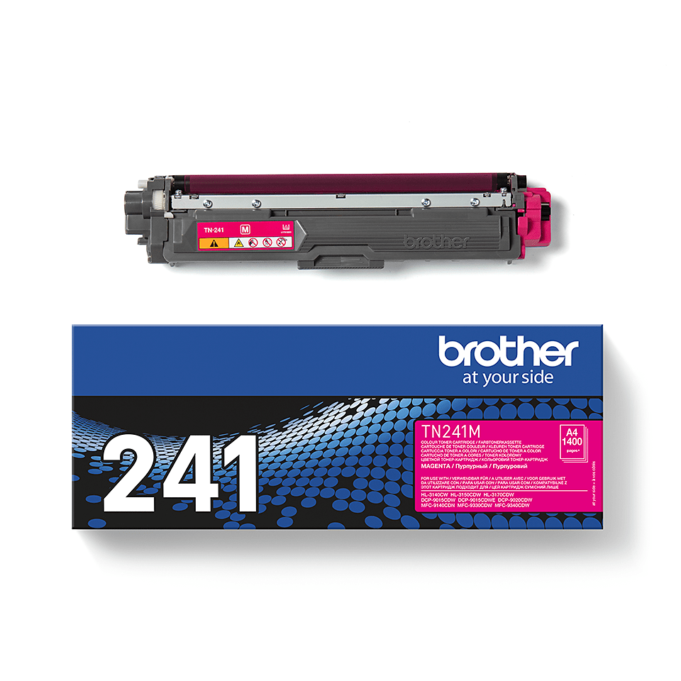 Brother original TN241M tonerkassett – Magenta 3