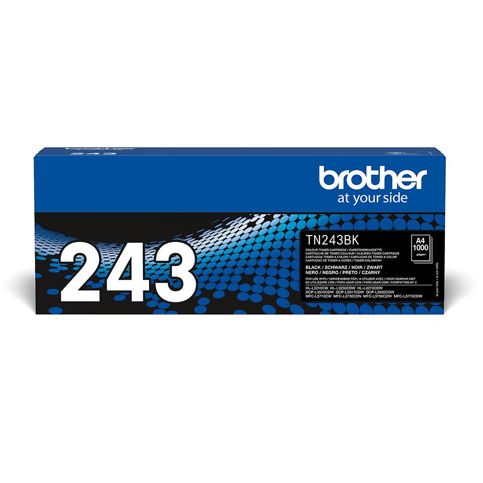 Brother TN243BK original tonerkassett- svart 2